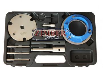 K-т за зацепване на двигатели 2.0D, 2.2D, 2.4D DURATORQ - Ford,Citroen, Peugeot,Fiat:Ducato,Jaguar:X-Type ,Land Rover:DefenderTd4, - ZR-36ETTS278 - ZIMBER TOOLS.