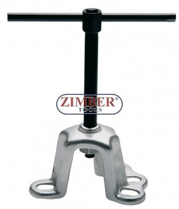 Скоба-Лапа за вадене на барабани, 100 - 115 mm, 7733 - BGS technic
