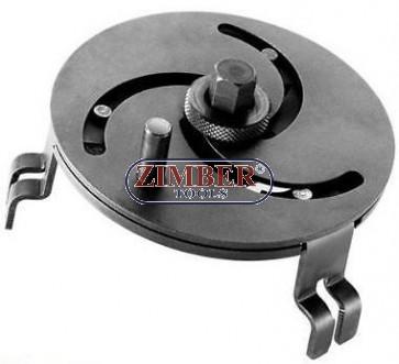 Регулируем ключ за капачката на бензинова помпа - размер от 89mm до 170mm. ZT-04A3067 - SMANN TOOLS.