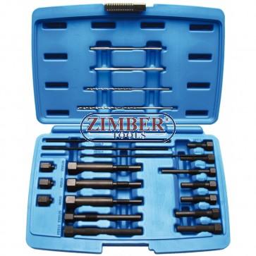 К-т за изваждане електроди на скъсани подгревни свещи M8 & M10 - ZT-04A6030 - SMANN TOOLS.