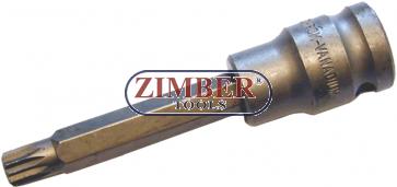 "Накрайник на вложка 1/2"", М8х110мм -XZN (ZB-4358) - BGS technic"