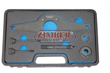 Инструмент за фиксиране на демпферни шайби на колянов вал 1.8/2.0 TFSi/TSi VAG - ZR-36CVDAS - ZIMBER TOOLS.