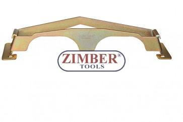 Инструмент за монтаж и демонтаж на веригата за 4-цилиндров бензинов двигател - Mercedes Benz  M111, ZR-36MDFTC - ZIMBER TOOLS.