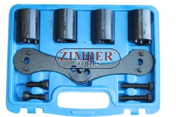 Инструменти за зацепване на балансиращи валове на BMW B47/N47/B48  - ZT-04A1061 - SMANN TOOLS
