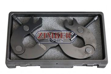 К-т фиксатори за разпределителни валове на двигатели 3.0 V6 5V AUDI, VW, ZR-36ETTS71 - ZIMBER-TOOLS.
