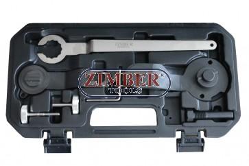 К-т фиксатори за зацепване на бензинови двигатели - VAG 1.2/1.4 TSI - BELT DRIVE - ZR-36ETTS268 - ZIMBER TOOLS.