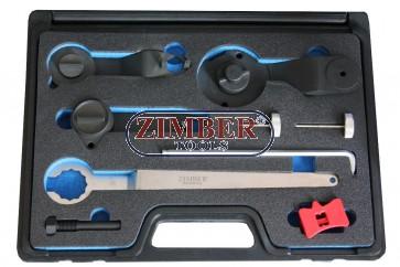 К-т фиксатори за зацепване на двигатели VAG 1.0-1.2-1.4 - ZR-36ETTS265 - ZIMBER TOOLS