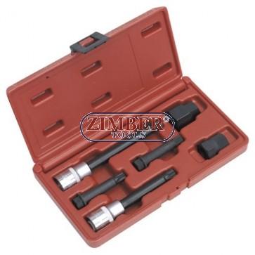К-т ключове за демонтаж на шайбите на алтернатори - 6 части (ZR-36ATS06)  ZIMBER - TOOLS.
