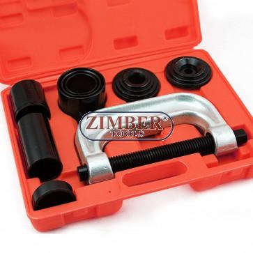 К-т скоби за монтаж и демонтаж на накрайници и шарнири, ZT-04009 -SMANN-TOOLS
