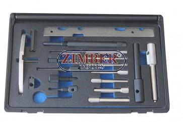К-т за зацепване двигатели Ford 1.8TTDi/TDCi & 2.0TDCi diesel, 1.6Ti-VCT Llater 1.25/1.4 16V DURATEC Бензинови двигатели - ZR-36ETTS271 - ZIMBER TOOLS.