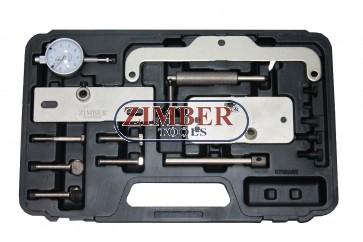 К-т за зацепване на двигател Opel, Isuzu, FIAT - 1.6 D/TD, 1.7 D/TD - ZR-36ETTS52-ZIMBER-TOOLS