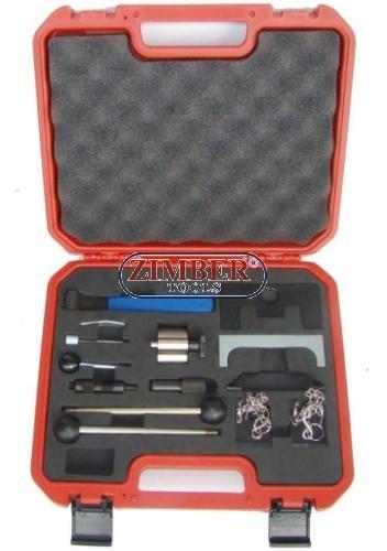 Комплект за зацепване на бензинови и дизелови двигатели VAG - AUDI, VW, Seat, Skoda (ZR-36ETTS65) - ZIMBER-TOOLS.