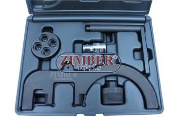 К-т за зацепване на дизелови двигатели  BMW N47/2.0d/ N57/3.0d , ZR-36ETTS181  - ZIMBER-TOOLS