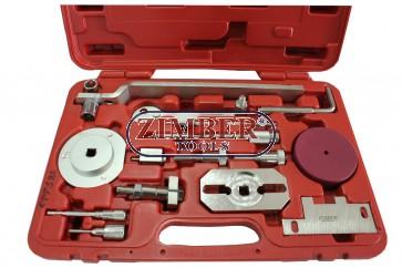К-т за зацепване на двигатели  Fiat, Iveco /Psa/ Ford,  Citroen, Peugeot  - 2.2L, 2.3L, 3.0L, ZR-36ETTS92 - ZIMBER TOOLS