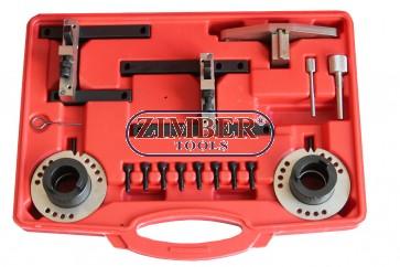 К-т за зацепване на двигатели Ford Focus C-Max B-Max Fiesta Transit 1.0 M1DD, 3-цил. Ecoboost- ZT-04A2306 - SMANN TOOLS