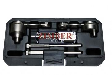 К-т за зацепване на двигатели LAND ROVER, JAGUAR 2.7 TD TDV6, ZR-36ETTS46  - ZIMBER TOOLS.