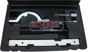 К-т за зацепване на двигатели Opel 1.0,1.2,1.4 - 4 части, ZR-36ETTS51 - ZIMBER-TOOLS