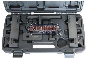 K-т за зацепване на двигатели V8 5.0 Jaguar XK8-XKR XF XJ Land Rover - ZR-36ETTS184 - ZIMBER TOOLS