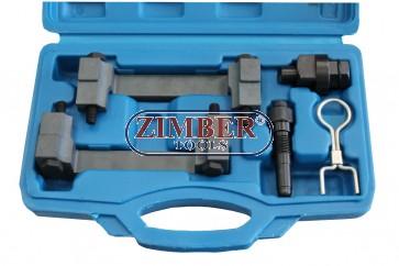 К-т за зацепване на двигатели VAG 2.4 & 3.2 FSI,  ZT-05197(04A2027) - SMANN TOOLS.