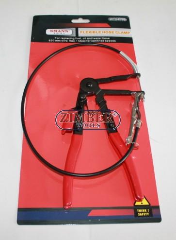 Клещи за скоби на водни съединения с жило (ZT-04096) - SMANN TOOLS
