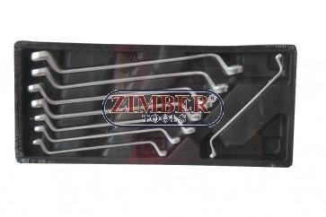 Ключове лули к-т 8 части за количка (6-22мм) ZT-00822 - SMANN TOOLS.