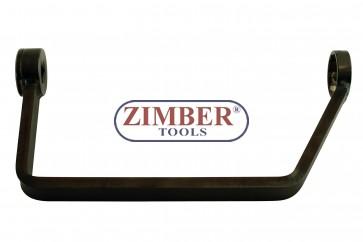 Ключ за демонтаж и монтаж за капачки за смяна на масления филтър на Ford & PSA Peugeot Citroën 27mm, ZT-01B0267 - SMANN TOOLS.