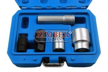 Комплект вложки за разглобяване и сглобяване на Bosch Diesel инжекционни помпи - ZR-36ICS01 - ZIMBER TOOLS