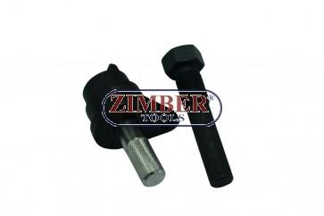 Комплект за зацепване на бензинови двигател на VW, Audi, Seat, Skoda-1.2 TSI - ZR-36ETTS191- ZIMBER TOOLS.