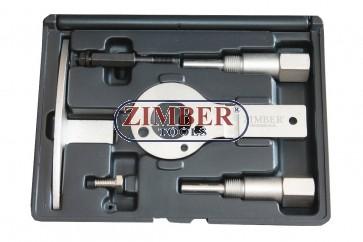 Комплект за зацепване на дизелови двигатели Alfa Romeo, Fiat 1.9, 8V/16V 2.4 JTD 10V/20V, MULTIJET- ZR-36ETTS86 - ZIMBER-TOOLS