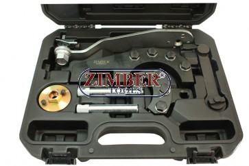 Комплект за зацепване на двигател на VW - TOUAREG, TRANSPORTER T5 VAG 2.5 TDI, ZR-36ETTS188 - ZIMBER-TOOLS.