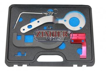 Комплект за зацепване на двигатели BMW / Mini 1,5 литра 3 цилиндъра (B37) и 2,0 литра 4 цилиндъра (B47) Дизелови двигатели - ZR-36ETCT - ZIMBER TOOLS.
