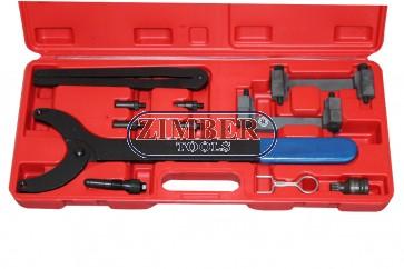 Комплект за зацепване на двигатели VAG Audi,VW - A4,A6,A8 3.2L,QUATTRO 2.4 - TFSI V6 - ZT-04A2126 - SMANN TOOLS.