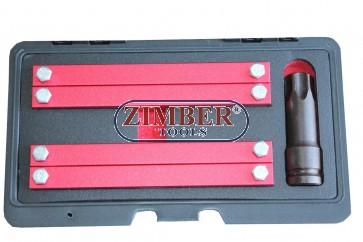 Комплект за зацепване на разпределителни валове Merzedes Benz M276, M157, M278 - ZT-04A2360D - SMANN TOOLS.