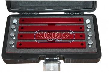 Комплект за зацепване на разпределителни валове Merzedes Benz  M276, M157 И M278,  ZT-04A2168D- SMANN -TOOLS.