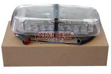 Сигнална лампа LED, Мини Лайтбар  с магнит 12V