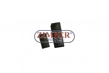 Резервен райбер от фреза за легла на клапани 44mm-52mm 75° and 30°, Размер: 5.8mm x 17mm - 1бр. ZR-41VRST100402 - ZIMBER TOOLS