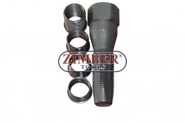Метчик за възстановяване на резби на свещи 14мм, ZR-36RKSP14 - ZIMBER-TOOLS.