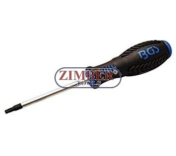 ОТВЕРТКА T20 x 80 mm. Torx  (7849-T20) - BGS technic