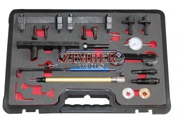 Под наем - К-т фиксатори за зацепване на двигатели VAG 1.2,1.4,1.6,2.0,2.4,3.2 - ZT-04A2266D - SMANN TOOLS.