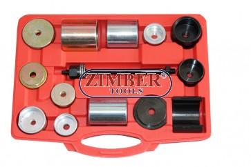 К-т за монтаж и демонтаж на втулки на заден мост за BMW E36/46, E38/39, E60/61, E31, E90/91 - ZT-04B2027 - SMANN TOOLS.