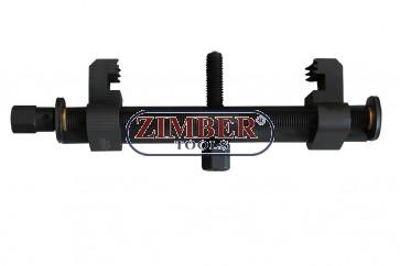 Скоба за демонтаж на шайби за колянов вал, динамо , климатици,водни помпи и др. 40-168mm- ZR-36PFRDP01 - ZIMBER TOOLS.