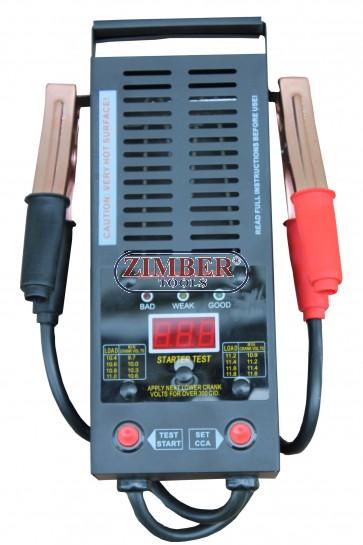 Товарна вилка за тестване на акумулатори дигитален цифров 12V ,  200-1000 Аmps - ZT-04D3002 - SMANN TOOLS.