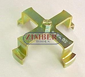 Ключ за отвиване на капак на резевоар Mercedes - ZIMBER - TOOLS