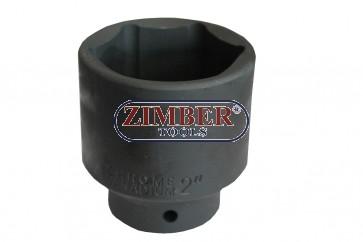 Ударна вложка 3/4 - 2''Inch - 50.80mm.ZR-06ISS3421V-2- ZIMBER TOOLS