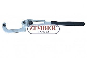 Регулируем ключ за блокиране на ангренажни зъбчатки - 100-150мм - ZR-36UPW - ZIMBER TOOLS.