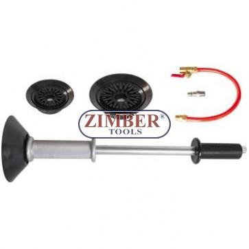 Вакуумен инструмент за изправяне на вдлъбнатини по купето на автомобили. ZR-36ADP - ZIMBER - TOOLS.