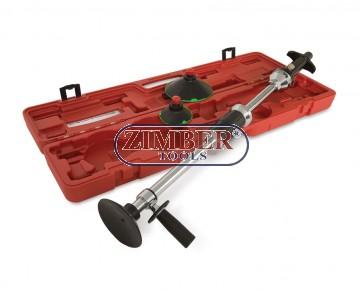 Вакуумен  инструмент за изправяне на вдлъбнатини по купето на автомобили - ZR-36VDRK - ZIMBER TOOLS