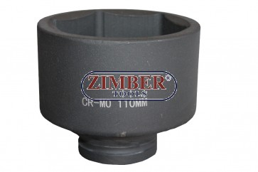 "Вложка ударна шестостенна 1"" 110mm, ZT-01E6055 - SMANN TOOLS."