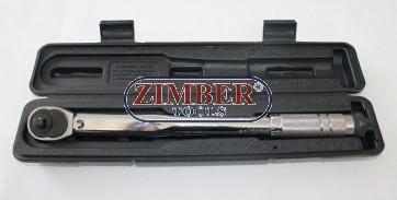"""Динамометричен ключ 3/8"""", 19-110Nm 360mmL - ZR-17TW3802 - ZIMBER-TOOLS"""