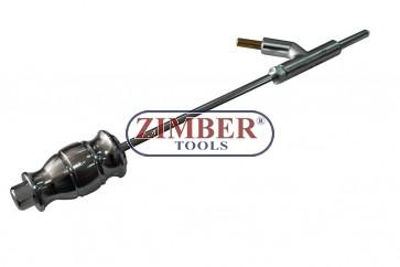 Обратен чук за изправяне на вдлъбнатини със заварка, ZR-36AWSH - ZIMBER TOOLS
